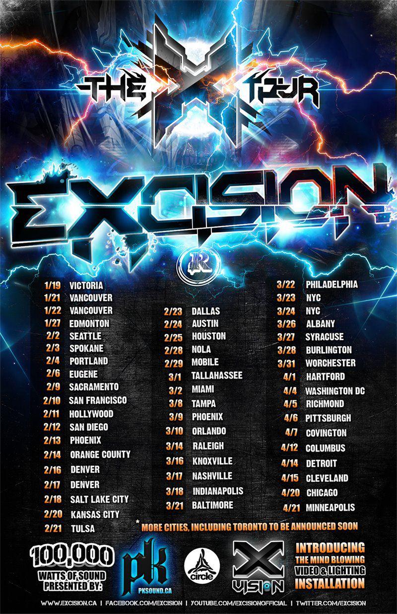 Excision @ Soul Kitchen (Mobile, AL) | Tickets
