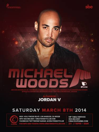 Michael Woods @ Create Nightclub