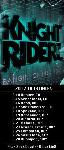 Knight Riderz in Winnipeg, MB w/ Zeds Dead