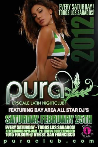 Pura Saturdays 2/25
