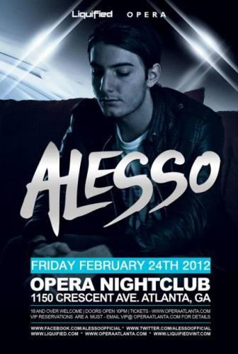 Alesso @ Opera
