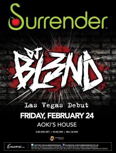 DJ BL3ND @ Surrender