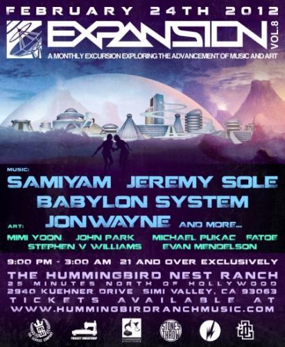Expansion Vol. VIII: SAMIYAM, Jeremy Sole, Babylon System & Jonwayne