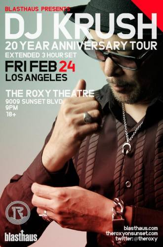DJ KRUSH 20-Year Anniversary Tour