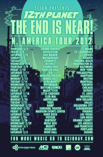 12th Planet @ Madison Events Center