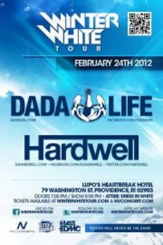 Winter White Tour 2012 w/ Dada Life & Hardwell @ Lupo's