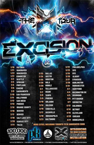 Excision @ Cain's Ballroom (2/21)