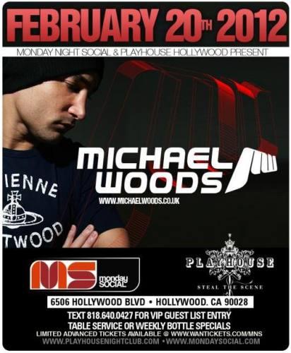 Michael Woods @ Playhouse