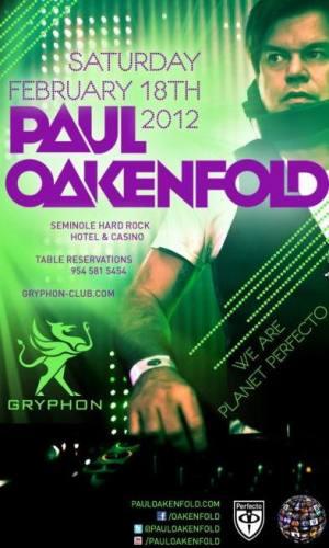 Paul Oakenfold @ Gryphon
