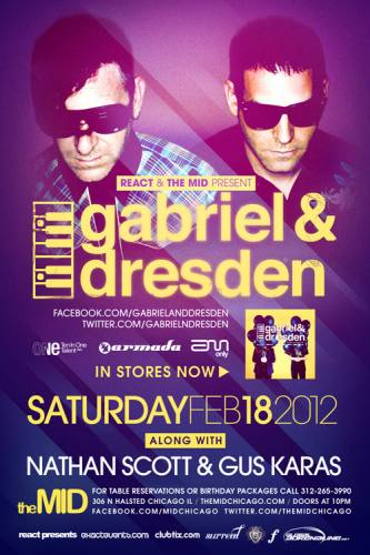 2.18 Gabriel & Dresden at the Mid Chicago