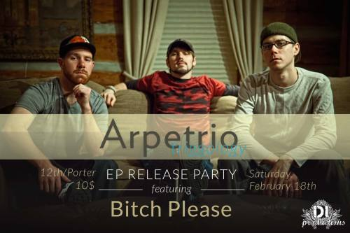 Arpetrio EP Release Party - Triggology