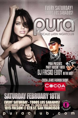 Pura Saturdays 2/18