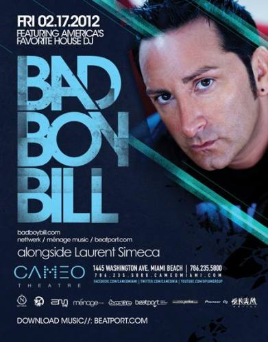 Bad Boy Bill @ Cameo