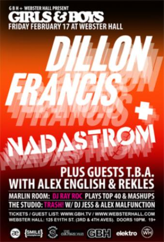 Dillon Francis @ Webster Hall
