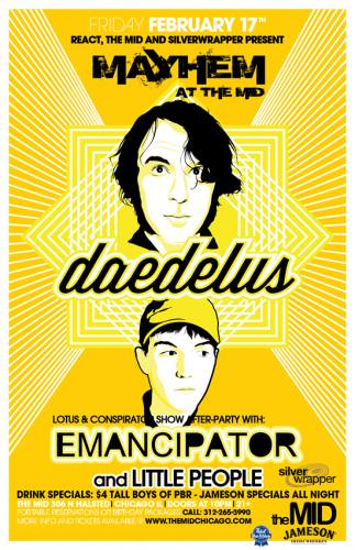 2.17 Daedelus - Emancipator - Little People at The Mid