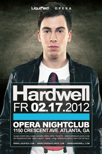Hardwell @ Opera
