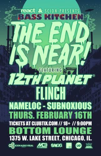 12th Planet @ Bottom Lounge