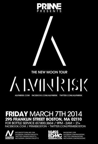 Alvin Risk @ PRIME (03-07-2014)