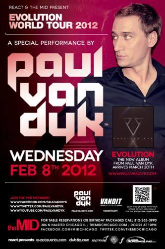 2.8 React Presents: Paul Van Dyk at The Mid