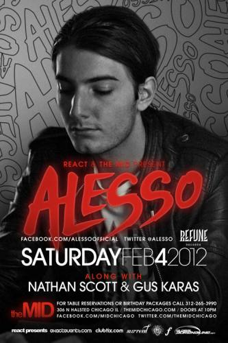 Alesso - Nathan Scott at The Mid Chicago
