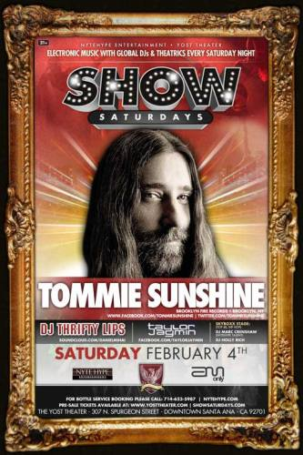 Tommie Sunshine @ The Yost Theater