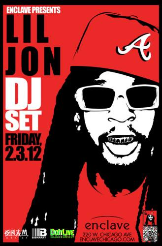 Enclave Chicago Presents... LIL JON - Free!