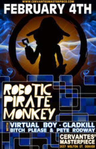 Robotic Pirate Monkey @ Cervante's
