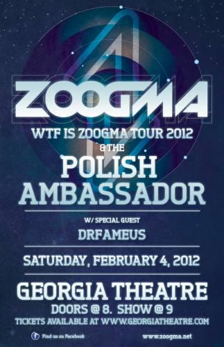 Zoogma & The Polish Ambassador @ Georgia Theatre