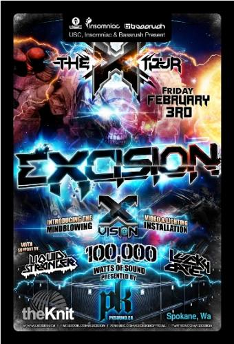 USC & Insomniac present... Excision @ The Knitting Factory