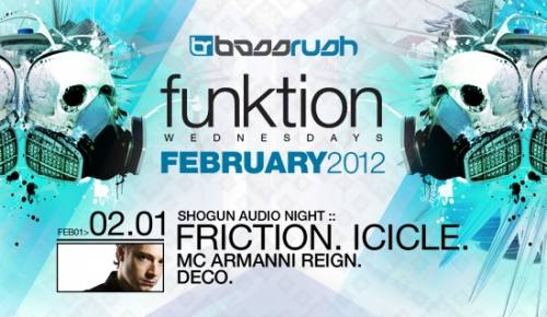 Funktion Wednesdays :: Friction & Icicle