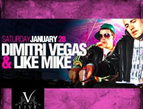 Dimitri Vegas & Like Mike @ V Live