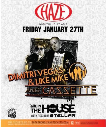 Dimitri Vegas & Like Mike and Cazzette @ HAZE