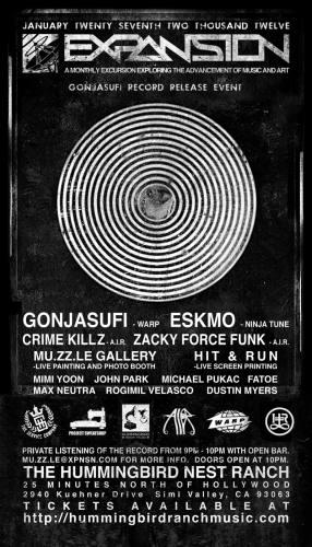 Expansion Vol. VII w/Gonjasufi, Eskmo, Crime Killz & Zackey Force Funk