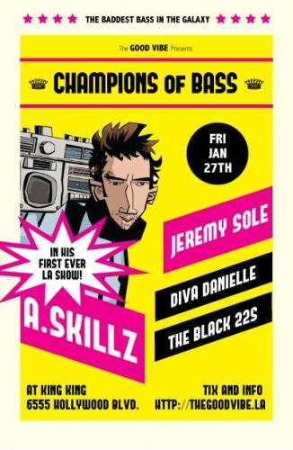 A.Skillz, Jeremy Sole, Black 22s and Diva Danielle | Champions of Bass