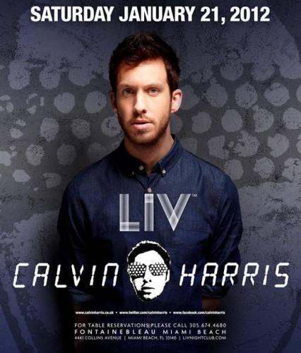 Calvin Harris @ LIV