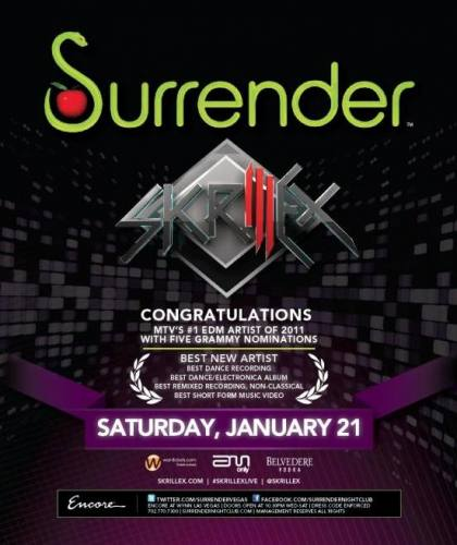 Skrillex @ Surrender