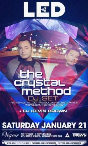The Crystal Method (DJ) @ Voyeur