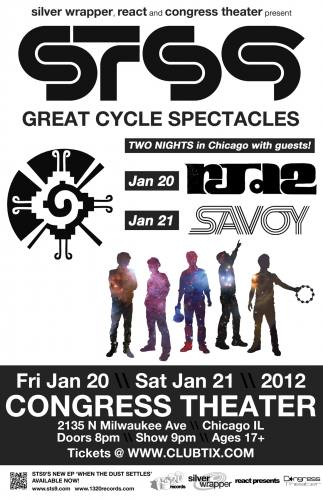 STS9 - GREAT CYCLE SPECTACLES - TWO NIGHTS!