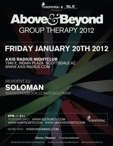 Above & Beyond @ Axis-Radius