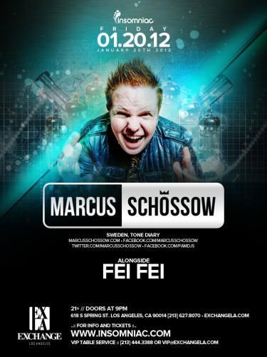 Marcus Schossow @ Exchange