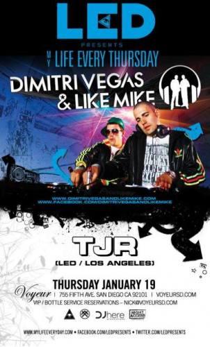 Dimitri Vegas & Like Mike @ Voyeur