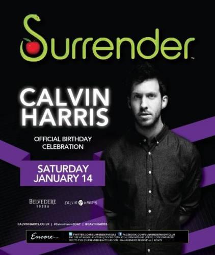 Calvin Harris @ Surrender (1/14)