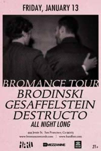 Bromance Tour with Brodinski & Gesaffelstein