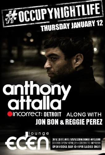 #OccupyNightlife with Anthony Attalla