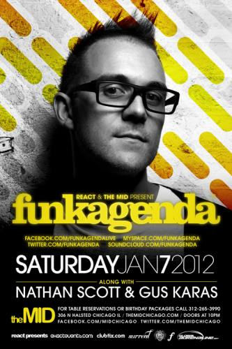 1.7 Funkagenda at The Mid RSVP for no cover