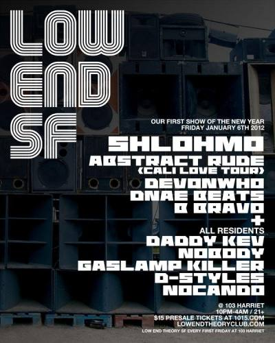 LOW END THEORY SF 1/6