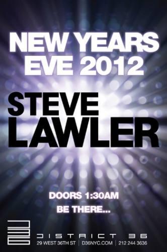 New Year's Eve 2012 w/ Steve Lawler