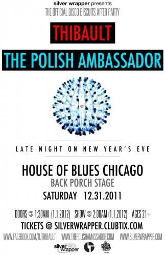 Thibault & Polish Ambassador @ House of Blues