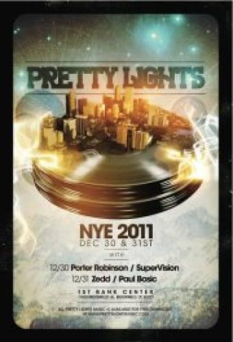 Pretty Lights @ 1st Bank Center (12/31)