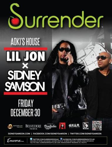 Surrender Your Friday with Lil Jon and Sidney Samson